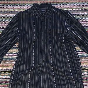 🔥😎 Kenneth Cole Reaction Striped Shirt